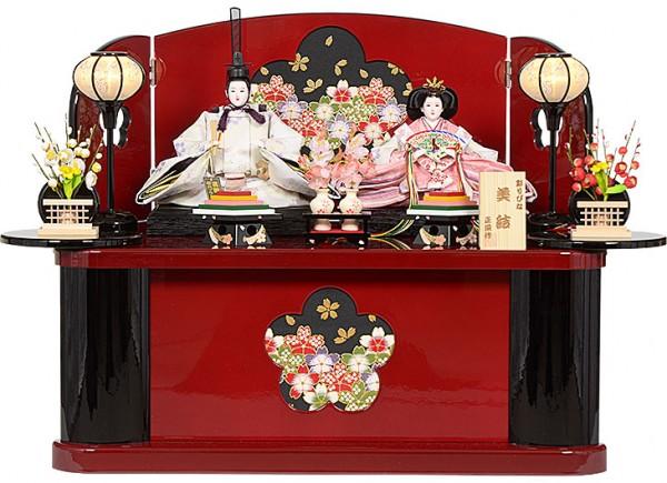 雛人形 収納型 親王飾り